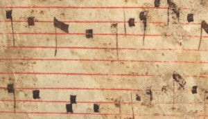 scraped and fragile, English sacred music from the Middle Ages threatens to disappear